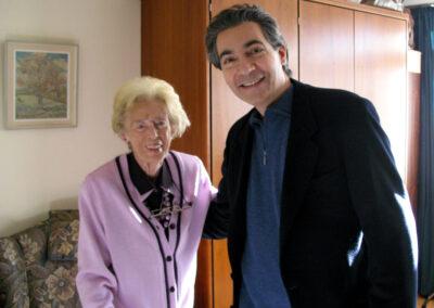 Pierre-Dominique Ponnelle und Edith Silbermann (3. Streichquartett)