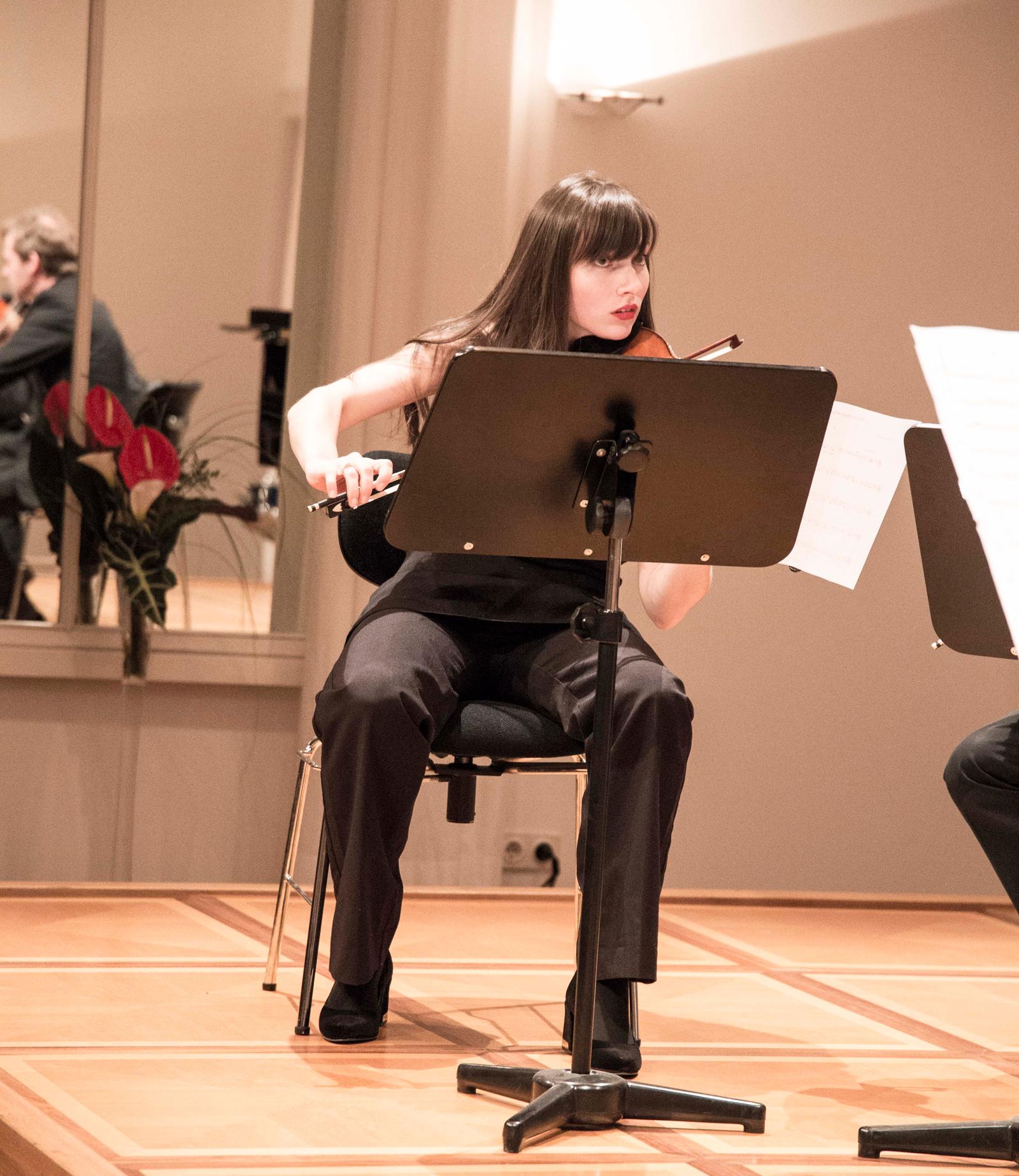 Porträtkonzert Pierre-Dominique Ponnelle – Kammermusikwerke in verschiedenen Besetzungen  Diana Tishchenko, Violine